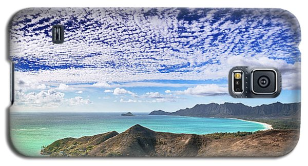 Lanikai Beach Cirrocumulus Clouds Galaxy S5 Case
