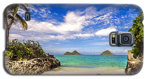 Lanikai Beach Cove Galaxy S5 Case