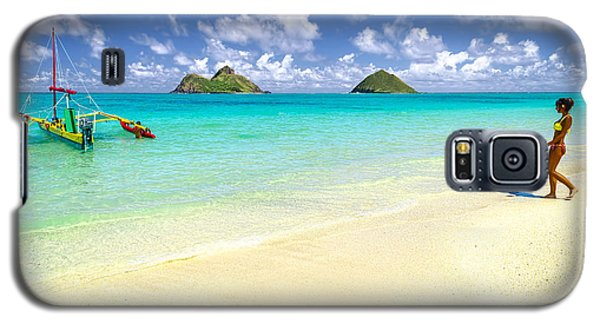Lanikai Beach Paradise Galaxy S5 Case