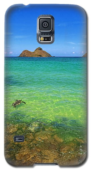 Lanikai Beach Sea Turtle Galaxy S5 Case