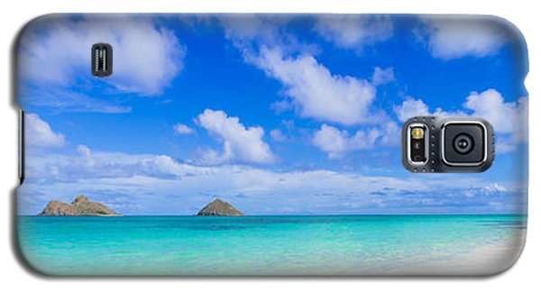 Lanikai Beach Tranquility 3 To 1 Aspect Ratio Galaxy S5 Case