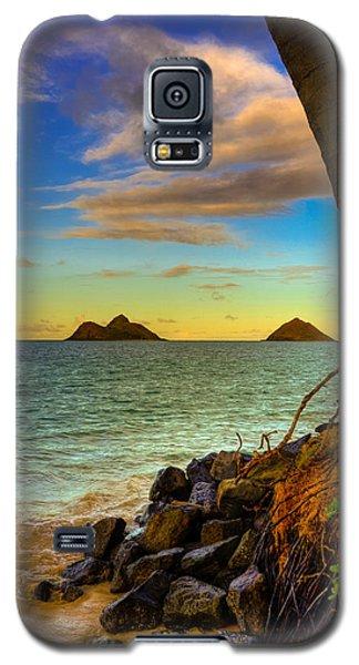 Lanikai Island Sunset Galaxy S5 Case