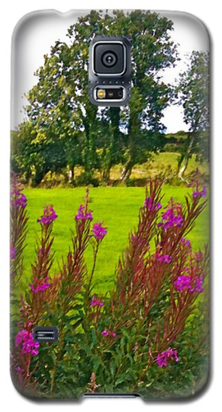 Lanna Fireweeds County Clare Ireland Galaxy S5 Case