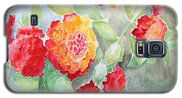 Lantana II Galaxy S5 Case by Marilyn Zalatan