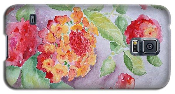 Lantana Galaxy S5 Case by Marilyn Zalatan