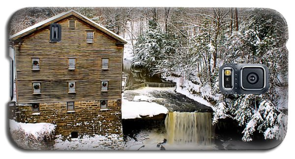 Lanterman's Mill In Winter Galaxy S5 Case