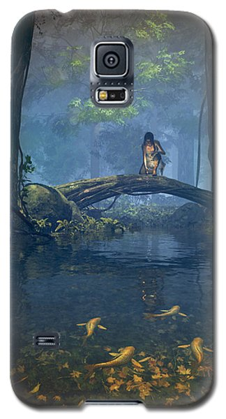 Lantern Bearer Galaxy S5 Case by Cynthia Decker