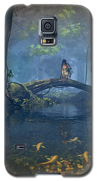 Lantern Bearer Galaxy S5 Case by Cynthia Decker