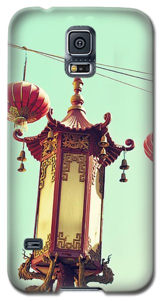 Lanterns Over Chinatown Galaxy S5 Case