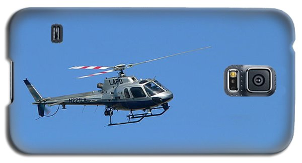 Lapd Helicopter Galaxy S5 Case