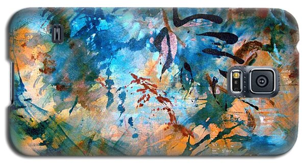 Lapis Leaves Galaxy S5 Case by Mary Schiros