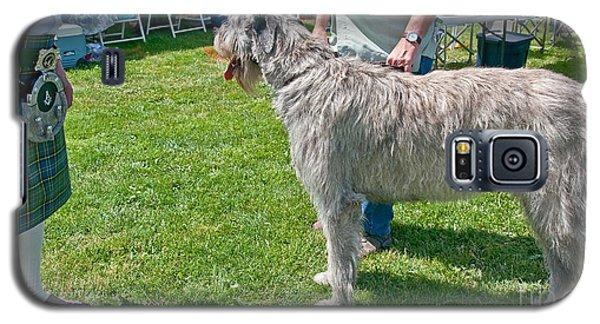 Large Irish Wolfhound Dog  Galaxy S5 Case