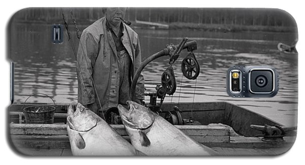 Large King Salmon Moss Landing Monterey California  Circa 1955 Galaxy S5 Case