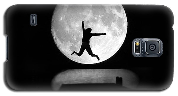 Large Leap For Mankind Galaxy S5 Case