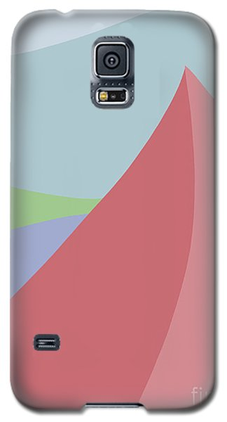 Large Red Sails Galaxy S5 Case