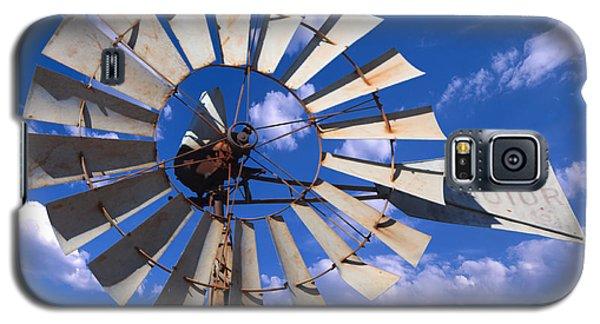 Large Windmill Galaxy S5 Case