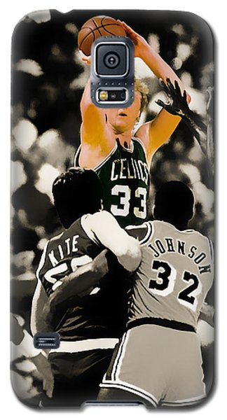 Larry Bird Galaxy S5 Case by Brian Reaves