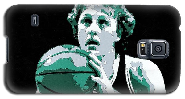 Larry Bird Poster Art Galaxy S5 Case