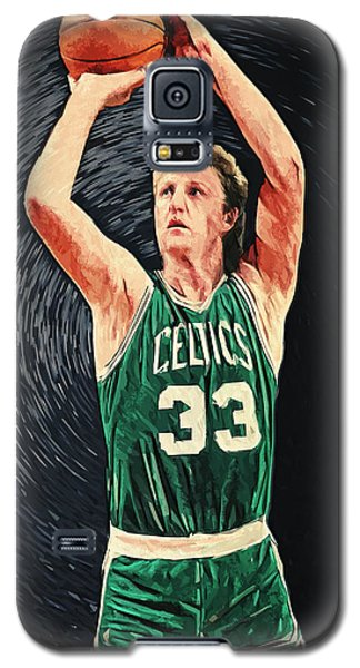 Larry Bird Galaxy S5 Case by Taylan Apukovska