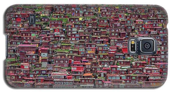 Town Galaxy S5 Case - Larung Gar by Tianyu