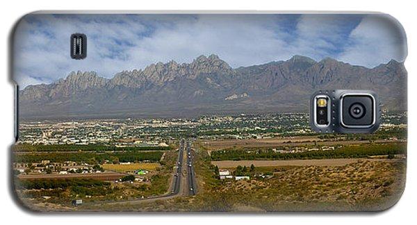 Las Cruces New Mexico Panorama Galaxy S5 Case by Jack Pumphrey