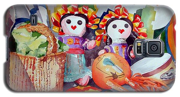 Las Muneca Chicas Galaxy S5 Case