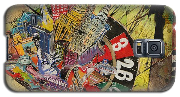 Las Vegas Collage Galaxy S5 Case by Corporate Art Task Force