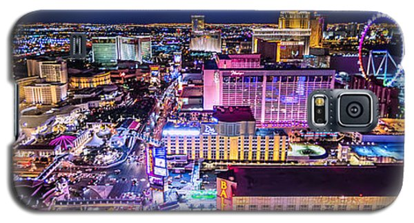 Las Vegas Strip North View 3 To 1 Aspect Ratio Galaxy S5 Case