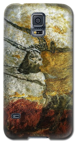 Galaxy S5 Case featuring the photograph Lascaux II Number 3 - Vertical by Jacqueline M Lewis