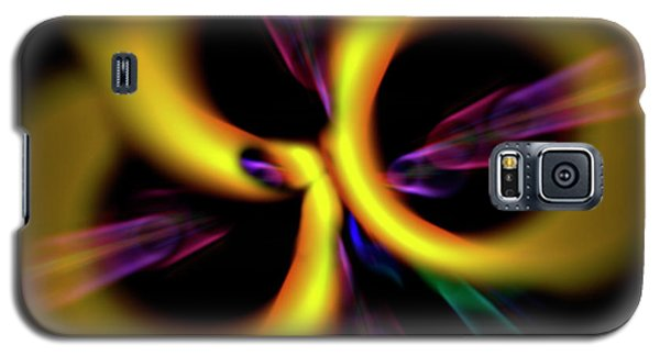 Laser Lights Abstract Galaxy S5 Case