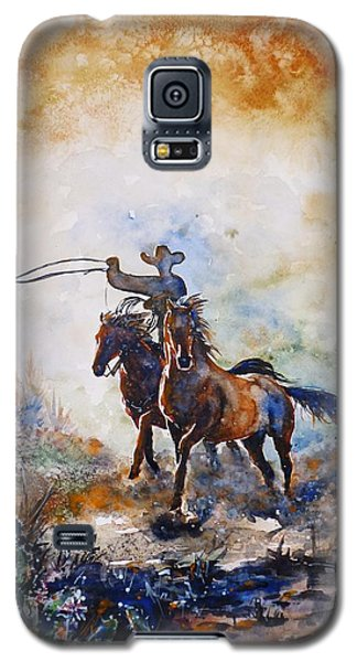 Lassoing Galaxy S5 Case by Zaira Dzhaubaeva