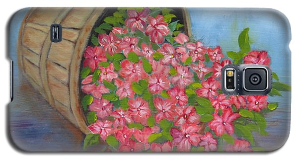 Last Flowers Of Summer Galaxy S5 Case by Sharon Schultz