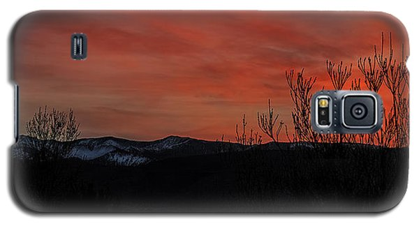 Galaxy S5 Case featuring the photograph Last Light by Nancy Marie Ricketts