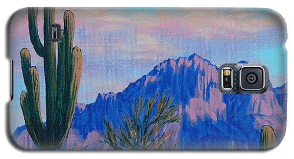 Last Light On The Superstitions Galaxy S5 Case