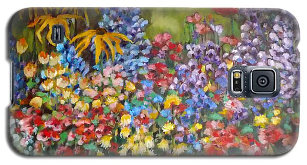 Last Summer's Flowers Galaxy S5 Case by Irena Mohr