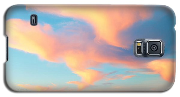 Fiery Sunset And Lenticular Cirrus Clouds - Newport Beach Backbay California Galaxy S5 Case