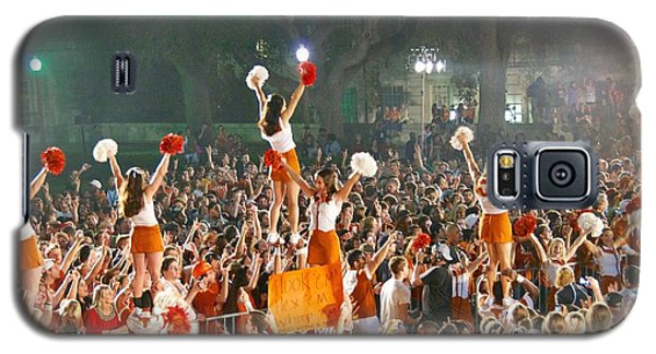Last University Of Texas Hex Rally Galaxy S5 Case by Sean Griffin