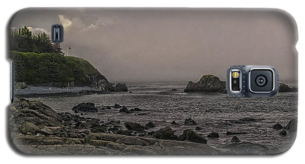 Galaxy S5 Case featuring the photograph Late Afternoon Sun On West Quoddy Head Lighthouse by Marty Saccone