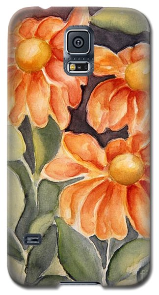 Late Autumn Flowers Galaxy S5 Case