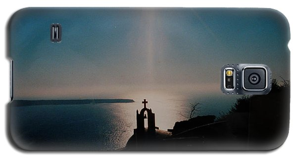 Late Evening Meditation On Santorini Island Greece Galaxy S5 Case