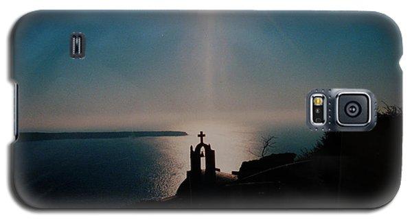 Late Evening Meditation On Santorini Island Greece Galaxy S5 Case by Colette V Hera  Guggenheim