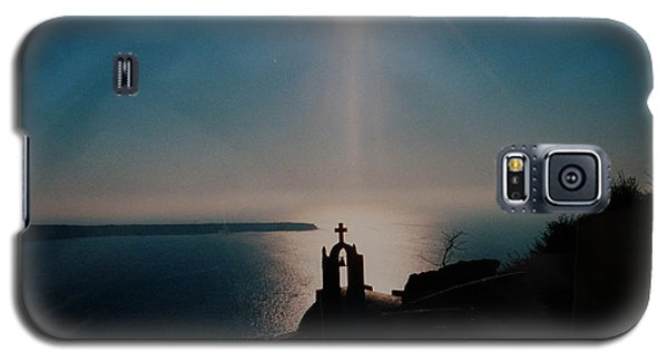 Galaxy S5 Case featuring the photograph Late Evening Meditation On Santorini Island Greece by Colette V Hera  Guggenheim