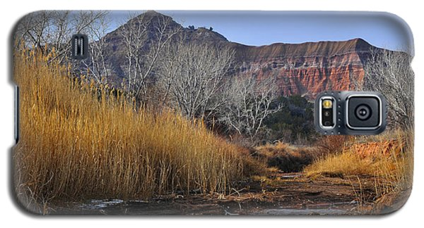 Late Fall In Palo Duro Canyon Galaxy S5 Case
