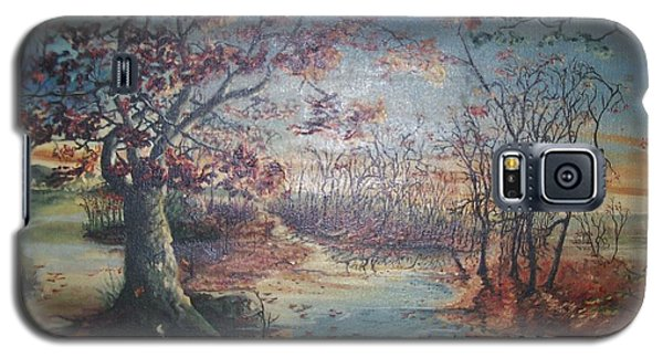 Galaxy S5 Case featuring the painting Late Fall by Peter Suhocke
