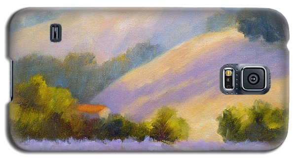 Late June Hills And Lavender Galaxy S5 Case