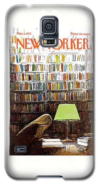 Florida State Galaxy S5 Case - Late Night At The Library by Arthur Getz