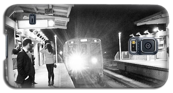 Late Night On The Red Line Galaxy S5 Case