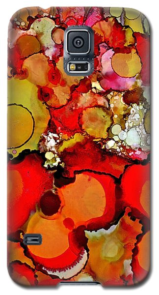 Late Summer Flowers Galaxy S5 Case by Bellesouth Studio