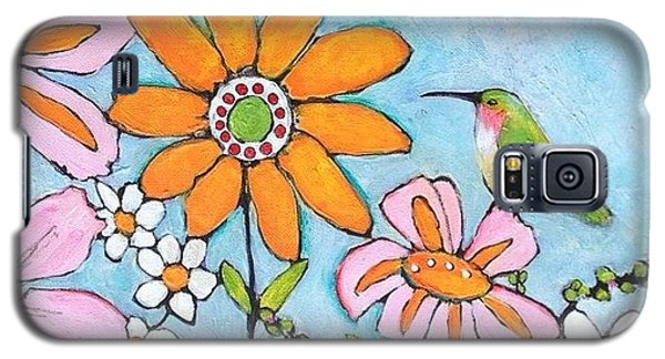Animal Galaxy S5 Case - Latest Painting Inspired By The by Blenda Studio