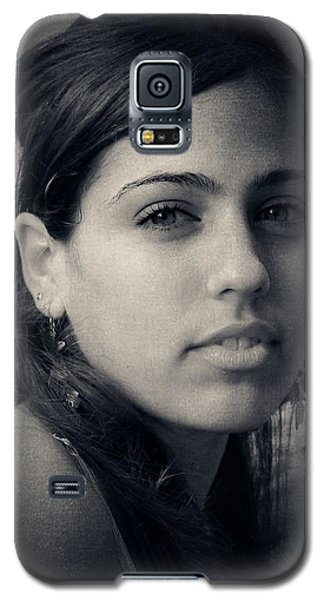 Galaxy S5 Case featuring the photograph Latina Beauty by Zinvolle Art